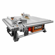 Wet Tile Saw, 120-Volt 7-Inch Diamond Blade Table Top Wet Cutting Tile Saw Tool