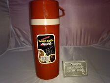 New Aladdin Wide Mouth Unbreakable Thermos Brown Foam Insulated Quart/Liter