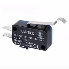 Micro Interruttore Switch Serie CMV Plastica 1NO+NC 10A 250V|CNTD-CMV-106-D 3pz