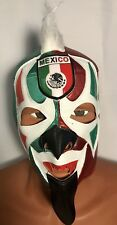 PSYCHO CIRCUS WRESTLER/LUCHADOR MASK!MEXICAN FLAG! WORLD CUP!! FOR EL TRI FANS!!