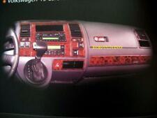 Cabina di pilotaggio DECORO VW t5 CARAVELLE CLIMATRONIC ab Bj. 2003-2009 radice look 31 PEZZI NUOVO