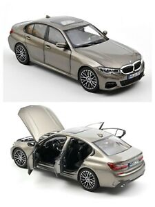 1/18 NOREV BMW 330i 2019 Silver New 183275 IN Box Shipping To Home