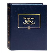 """WHITMAN CLASSIC"" 2234 SACAGAWEA DALLARS 2000-2009 ALBUM P&D W/ FREE SHP!!"