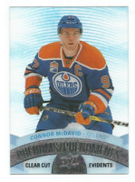 2017-18 UD Tim Hortons Clear Cut Phenoms #CCP1 Connor McDavid Edmonton Oilers