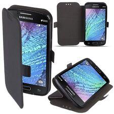 ^ 3 Book Flexi Hülle Schutzhüle Etui Tasche Cover Samsung Galaxy S9 Plus Schwarz