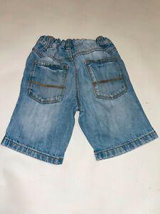 Kinder Jungen Denim Jeans Kurzhose Shorts Next Gr.98 Hell blau (92)