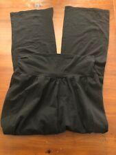 Bump In The Night Black Maternity Lounge Pants Size M