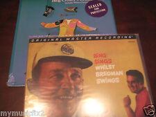 BING CROSBY MFSL Verve BING SINGS BREGMAN SWINGS 200 GRAM  Sealed LP +  HITS LP