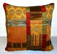 18'' SQUARE TAPESTRY CHENILLE SCATTER CUSHION COVER - TO FIT A 20'' CUSHION PAD