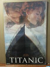 Vintage Movie poster Titanic James Cameron Leonardo de caprio winslet 1998 598