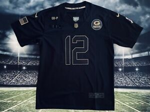Aaron Rodgers Green Bay Packers Salute To Service Jersey M