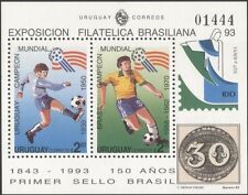 Uruguay 1993 Football/Soccer/Sports/Games/World Cup/WC/StampEx 2v m/s (n44906)