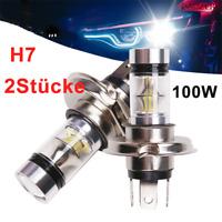 2x H7 100W Auto 20LED Scheinwerfer Nebelscheinwerfer Kit 6000K Canbus Lampen