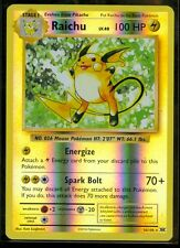 Pokemon RAICHU 36/108 - XY Evolutions - RARE Rev Holo - MINT