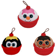 TY Holiday Babies - 2014 Complete set of 3 (Gelato, Flakes & Coco) - New