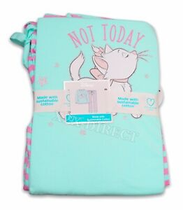 Disney Aristocats Marie Primark Mint/Pink Long Sleeve Top & Bottoms Pyjamas PJs