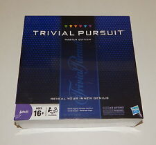 Trivial Pursuit Master Edition HASBRO Board Game 2950 Questions SEALED R10798