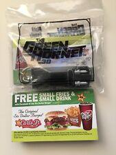 2010 Green Hornet Black Beauty KeyChain New in sealed package Hardee's Carl's Jr