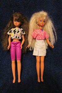 Mattel 1987 Vintage Skipper Barbie Dolls