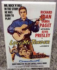 "Love Me Tender Movie Poster 2"" x 3"" Refrigerator Locker MAGNET Elvis Presley"