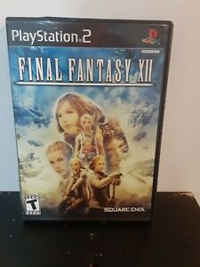 Final Fantasy XII (Sony PlayStation 2, 2006) PS2 complete tested