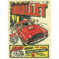 BULLET #1-147 ON DVD. FULL RUN. 1976-1978 BOYS BRITISH ACTION ADVENTURE COMIC UK