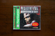 Resident Evil Director's Cut [Greatest Hits]  (Sony PlayStation 1, 1998) PS1 CIB