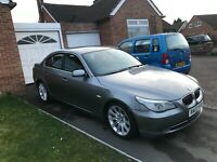 FACELIFT SILVER 530i SEMI BMW RUNFLAT MSPORT WHEELS PETROL FAST