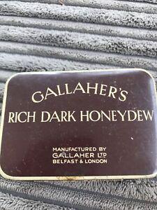 Gallaher's  Rich Dark Honeydew Cigarette Tin 2 Oz Net