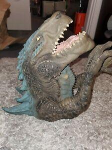 "1998 Toho 14"" Godzilla Resaurus Toys Cool Action Figure Collectible Puppet Toy"