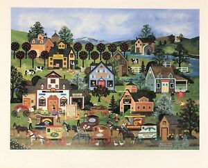 """Jane Wooster Scott Signed & Numbered L/ED Lithograph """"Shopping Spree"""""""