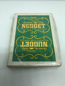 Carson City Nugget Playing Card