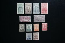 (T2) PORTUGAL 1931 lot of 12 mint hinged stamps #531/ 542