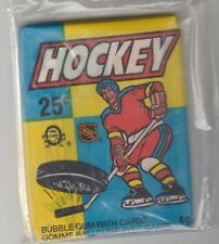 1983 84 O Pee Chee UNOPENED Wax Pack Pelle Lindbergh Scott Stevens RC Gretzky