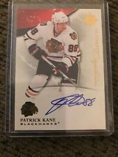 10/11 UD Ultimate Collection Ultimate Signatures #US-PK Patrick Kane Chicago