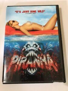 Piranha Dvd 2011 Canadian Widescreen It's Jaws Gone Wild
