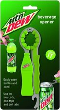 Mtn Dew Beverage Opener - Easy Twist Off Pop Top Pull Tab Beer Soda Cans Bottles