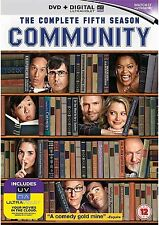 Community Complete Series 5 DVD All Episodes Fifth Season Original UK Rel R2 NEW