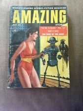 Science Fiction Novel Amazing Stories The Edge Of The Knife May 1957