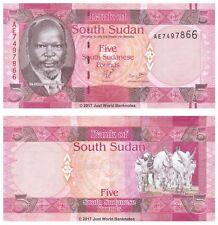 South Sudan 5 Pounds ND 2011 P-6 Banknotes UNC