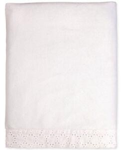 Carter's Lily Embroidered Eyelet Velboa Blanket - White - Baptism