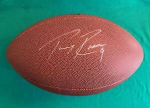 Tony Romo Autographed Dallas Cowboys NFL Wilson Football