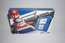 Nintendo 2DS Mario Kart 7 Bundle System - Blue - Brand New Sealed Free Shipping