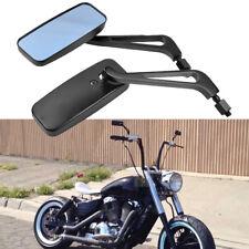 Bobber Chopper Motorcycle Side Mirrors 8mm 10mm For Honda Shadow VT VTX VLX Fury