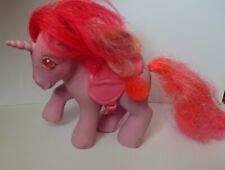 More details for vintage hasbro my little pony unicorn galaxy twinkle eyed g1 1985 hong kong