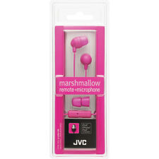 Genuine JVC HA-FX37P Marshmallow Pink In-Ear Headphone Earbud with Mic & Control