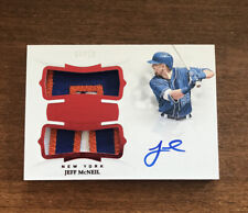 Jeff McNeil 2019 Flawless Rookie Patch Auto DPA-JM New York Mets 4/20 RC