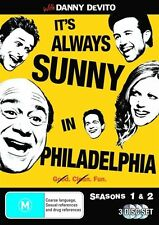 It's Always Sunny In Philadelphia : Season 1-2 (DVD, 2009, 3-Disc Set)