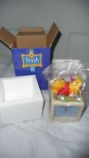 Disney Winnie the Pooh Clock 100 Acre Collection Resin - NEW IN Box