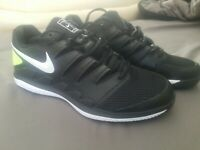 Nike Air Zoom Vapor X Mens Black Tennis Shoes Sneakers AA8030-009 Mens Size 10